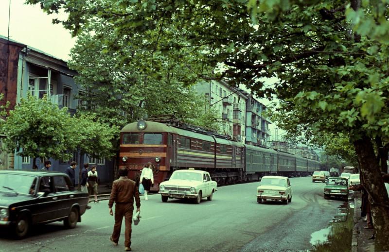 1985 год, Батуми, Грузия. Автор фотографии - Н. Пытель.