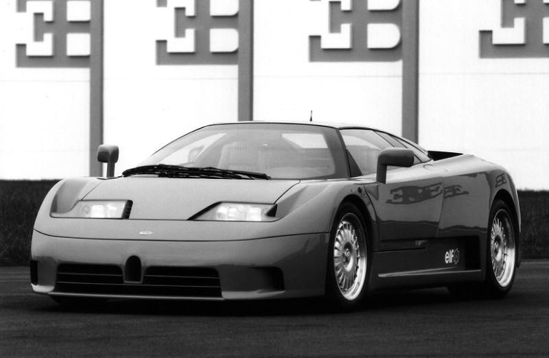 Bugatti ЕВ110 (Ettore Bugatti 110)