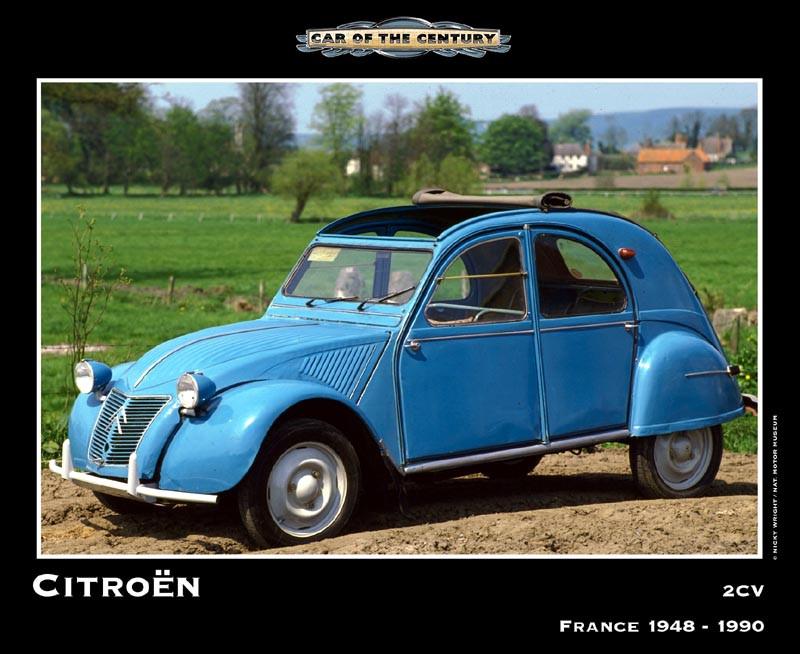 """Citroen 2CV - """"Car Of The Century"""""""