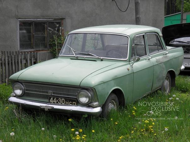 Москвич-712 ИЖ на Новосибирских номерах 44-30 НСП.
