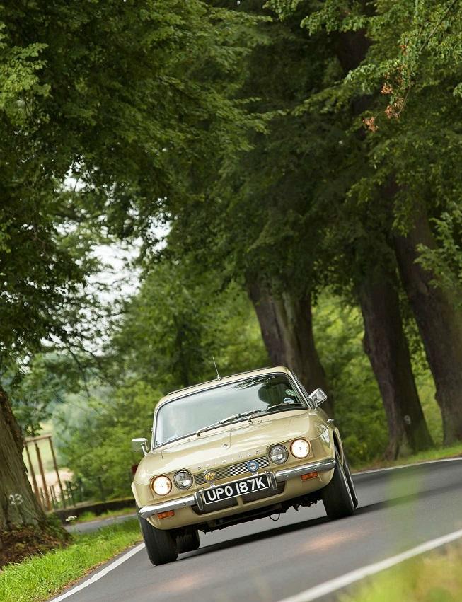 "1972'Reliant Scimitar GTE SE5 (из журнала ""Youngtimer"" (11-12.2019г.)"
