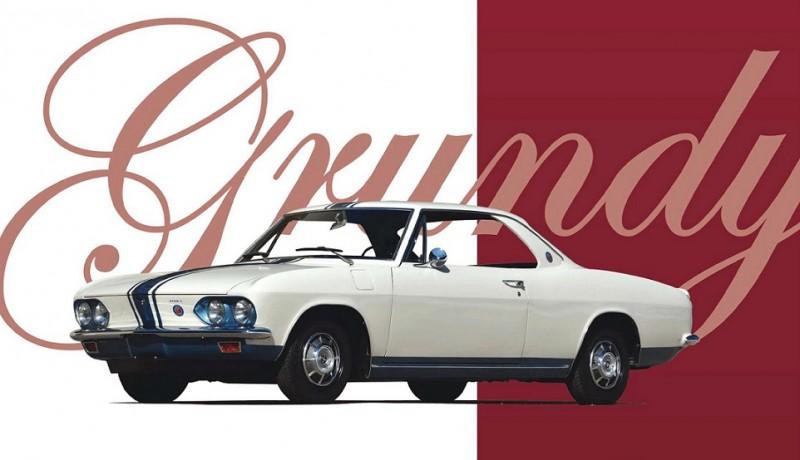 "1960's Chevrolet Corvair (из журнала ""Classic Motorsports 05_2017)"
