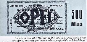 1915'opel - 500 Million
