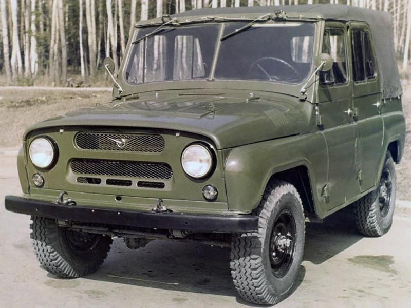УАЗ-469 первых серий...