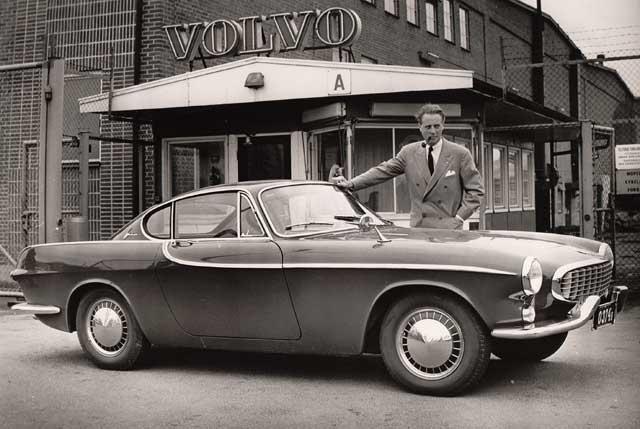 1960's Volvo P1800