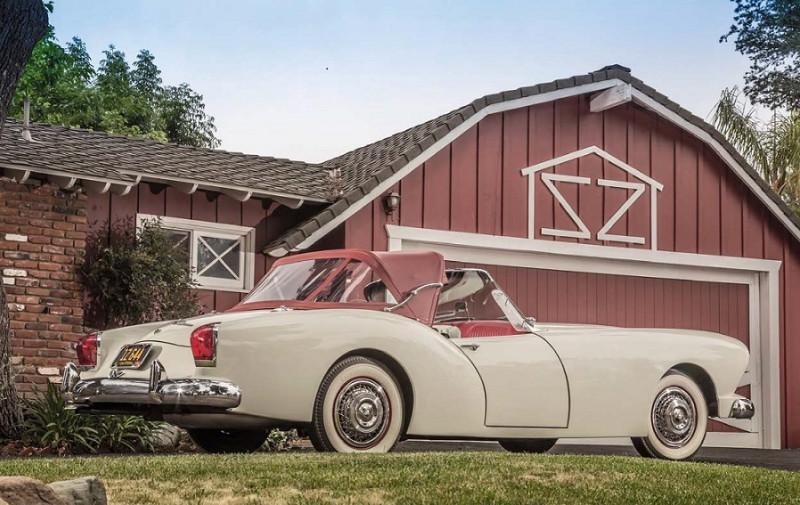 "1954'Kaiser Darrin 161 (фото из журнала ""Classic Cars Germany"" (2017-11)"