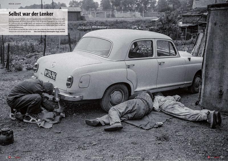 """Mercedes Benz 190 """"Ponton"""" (из Швейцарского журнала - """"Swiss Classics Revue"""" №10-11 2019)"""