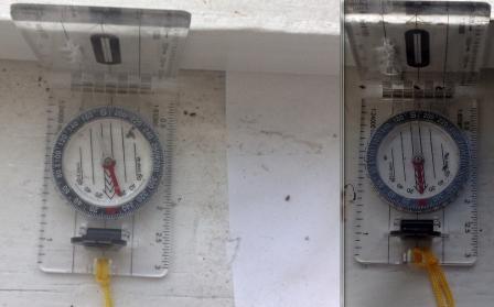05 Положение компаса сегодня (1.07.2021 слева) и пол года назад