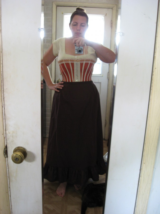 Combinations, Dore Corset, and Petticoat