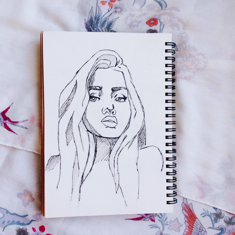 Картинки для срисовки для начинающих поэтапно карандашом 7