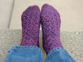 Amethyst Socks