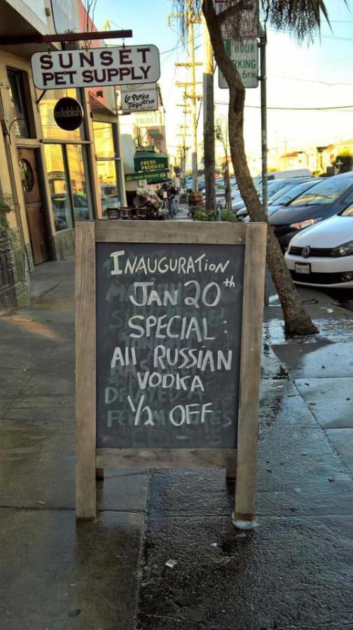 Русская водка за пол-цены