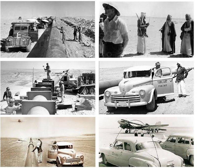 История первого нефтепровода в Королевстве Саудовская Аравия
