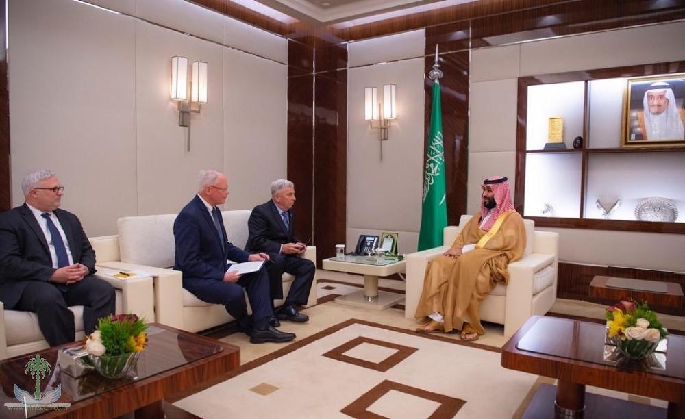 Наследный принц встретился с посланником президента США  по Сирии