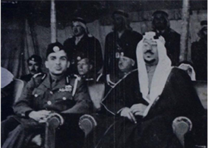 Визита Короля Сауда бин Абдулазиза в г.Аръаръ 67 лет назад
