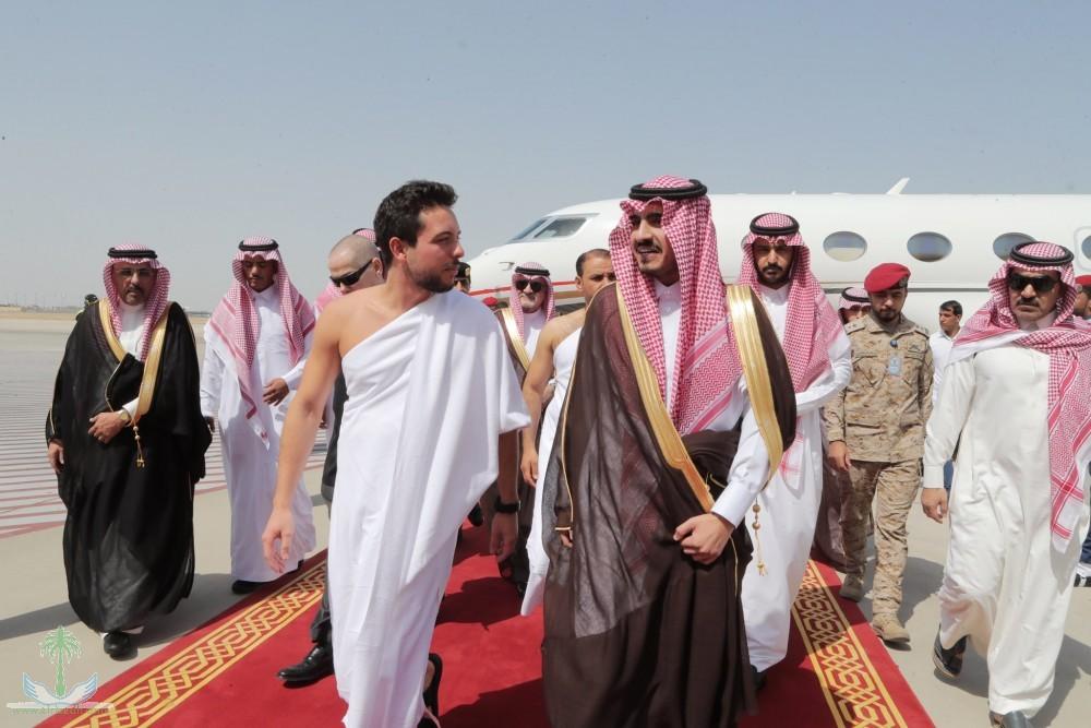Наследный принц Королевства Иордания прибыл в Джидду