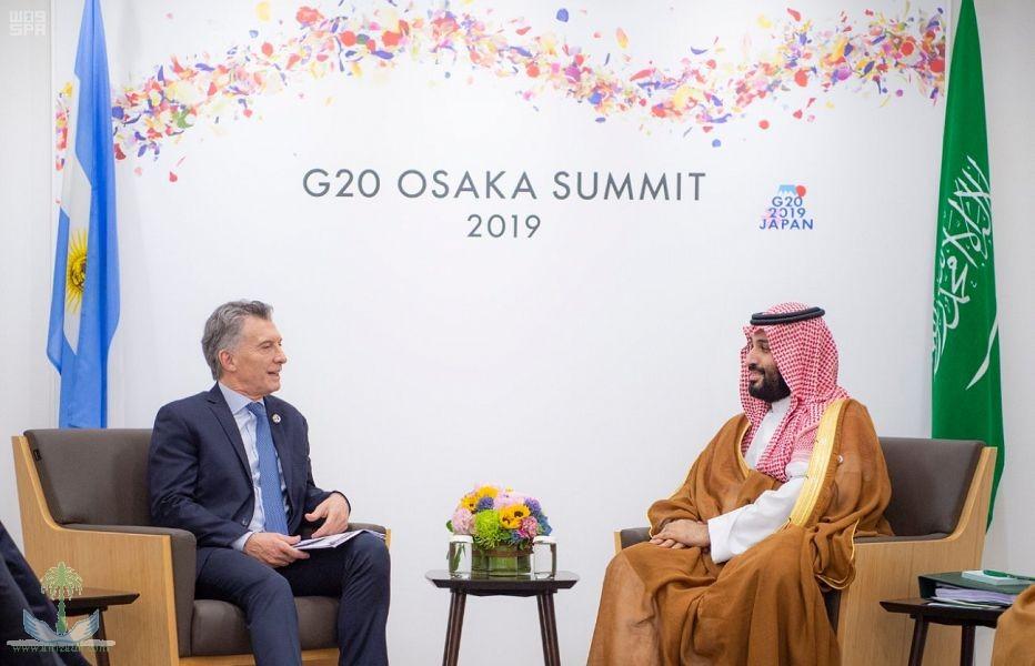 Наследный принц встретился с президентом Аргентины