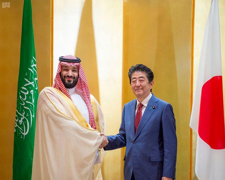Его Высочество наследный принц встретился с премьер-министром Японии