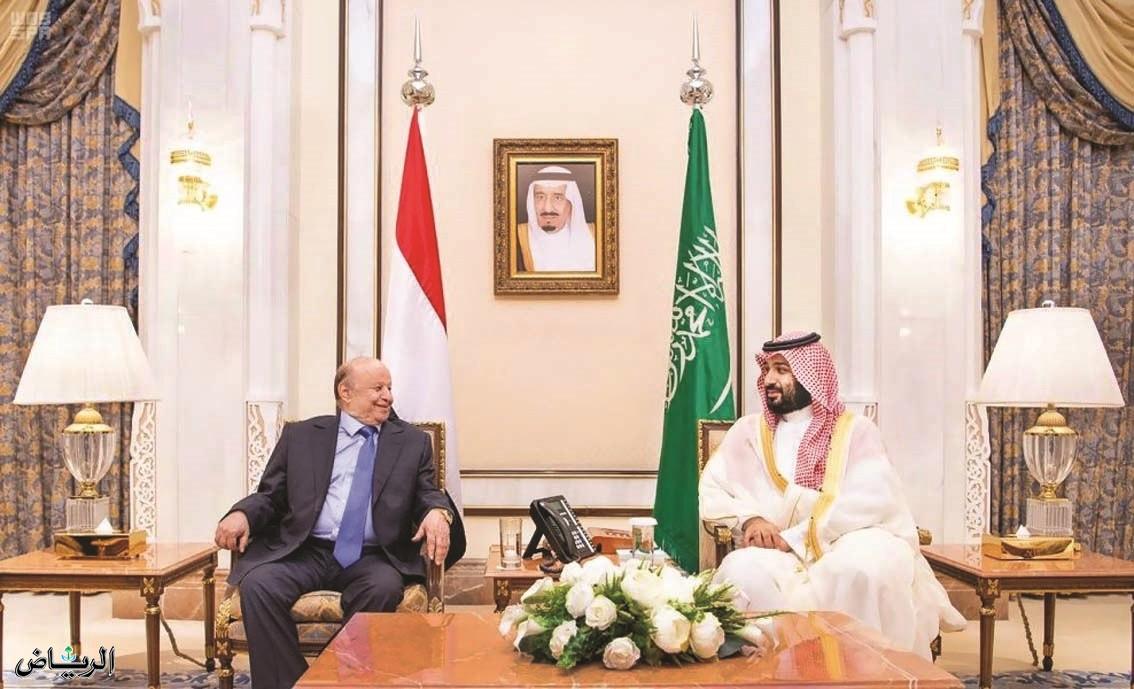 Наследный принц встретился с президентом Йемена