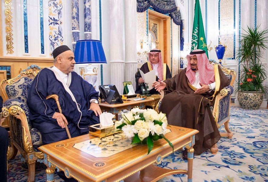 Служитель Двух Святынь принял Главу Управления мусульман Кавказа