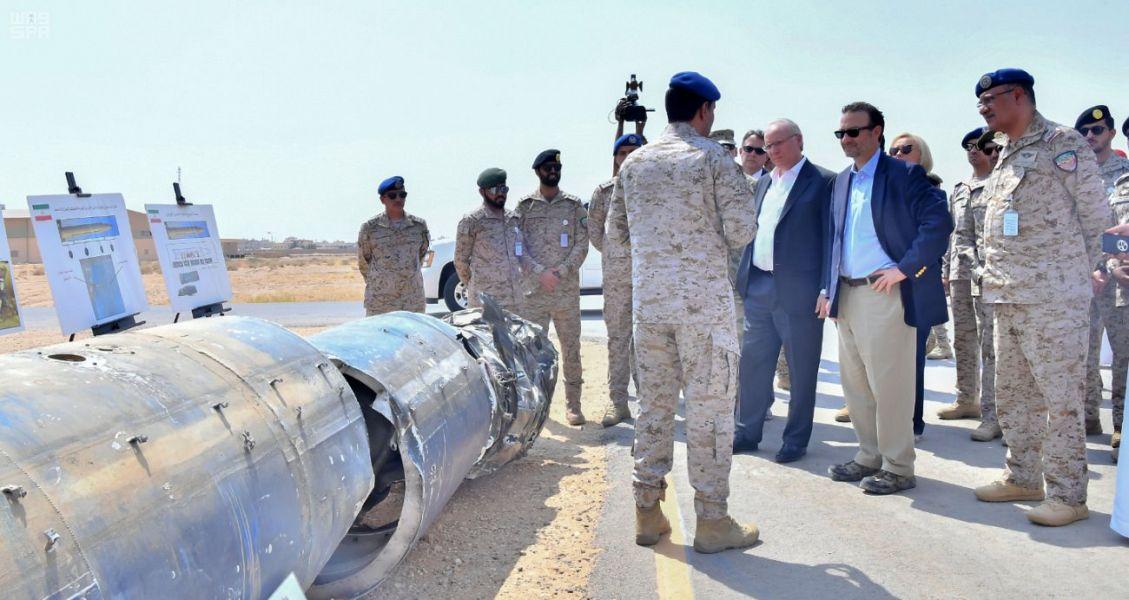 Помощник госсекретаря США по Среднему Востоку осмотрел останки иранского оружия, используемого мятежниками хусиитами
