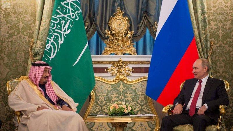 В преддверии визита Владимира Путина в Саудовскую Аравию.
