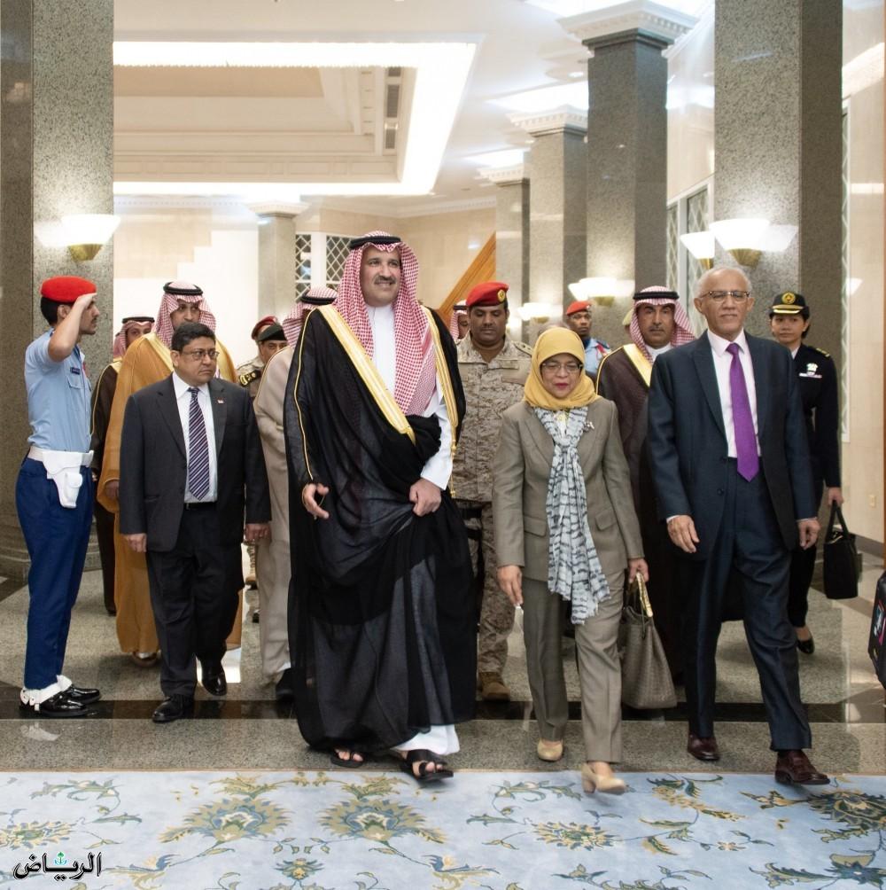 Президент Сингапура прибыла в Лучезарную Медину