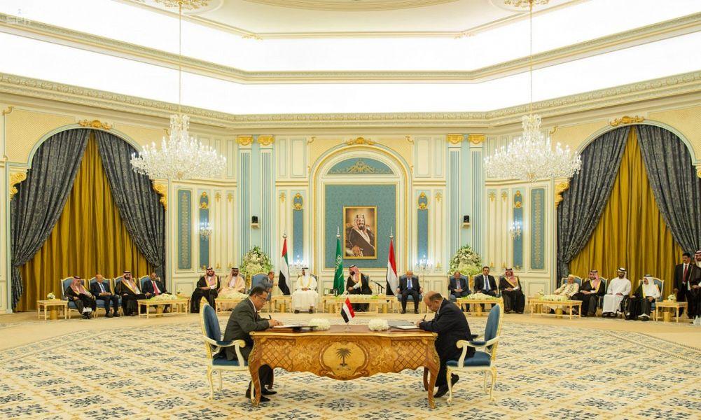 Его  Высочество наследный принц патронировал подписание в Эр-Рияде  соглашения между законным правительством Йемена и Южным переходным  советом