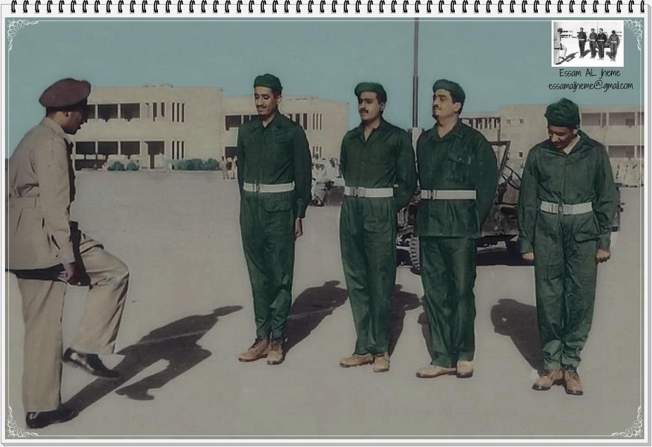 Принцы Фахд, Абдалла и Салман во время отражения агрессии против Египта в 1956г.