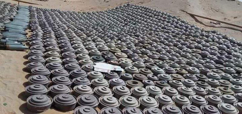 Йемен: в ноябре обезврежено 9 185 мин и неразорвавшихся снарядов