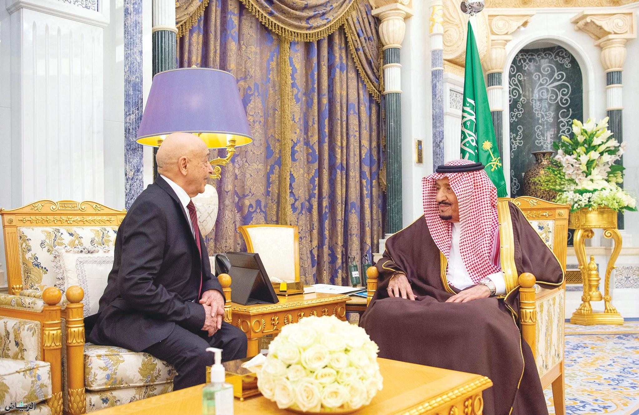 Служитель Двух Святынь принял  президента Палаты преставителей Ливии