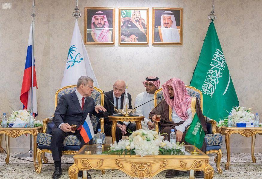 Генеральный прокурор Саудовской Аравии встретился со своим российским коллегой