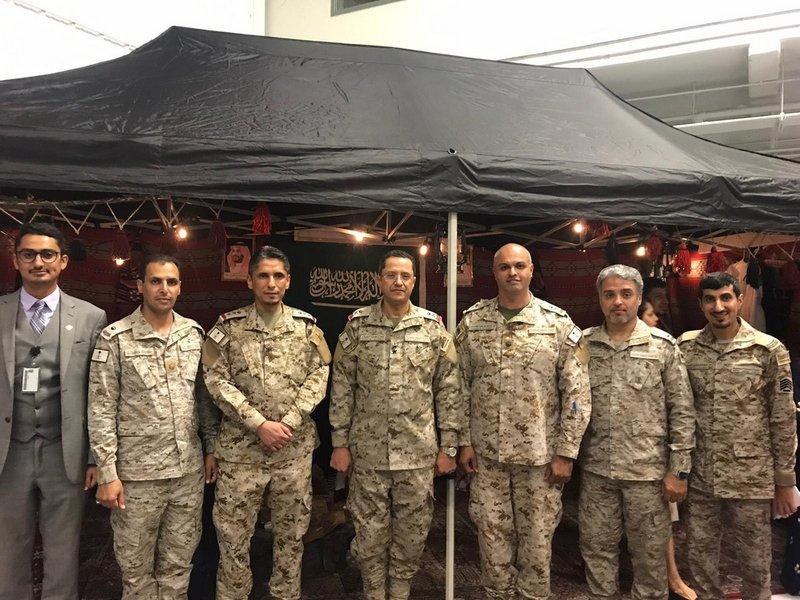 Бюро военных связей Саудии участвует в «Международной ночи союзников»