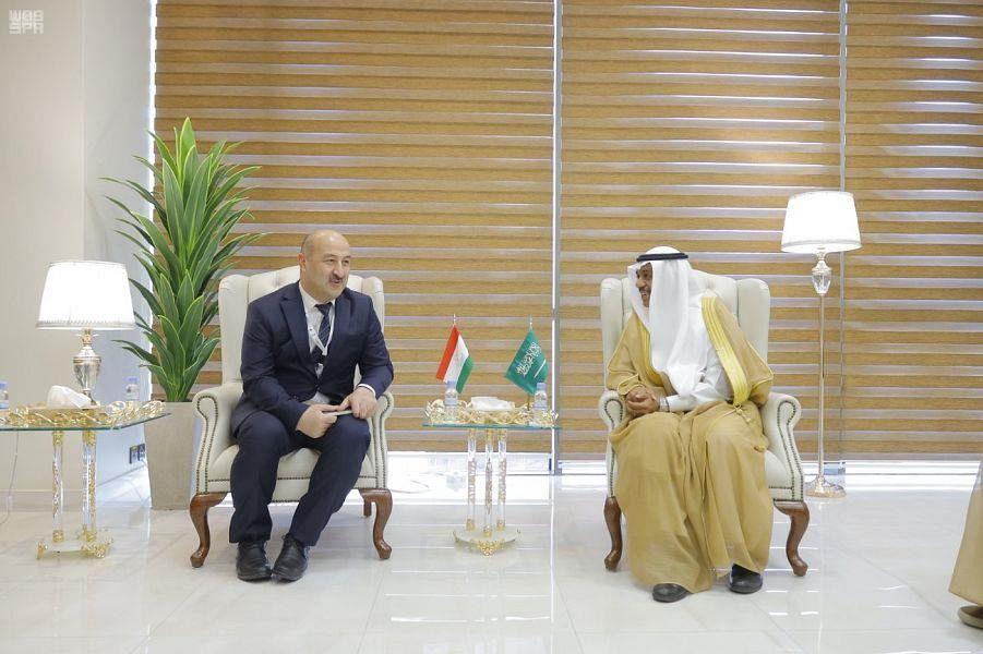 Заместитель министра хаджа и умры встретился с председателем комитета по делам религий Республики Таджикистан