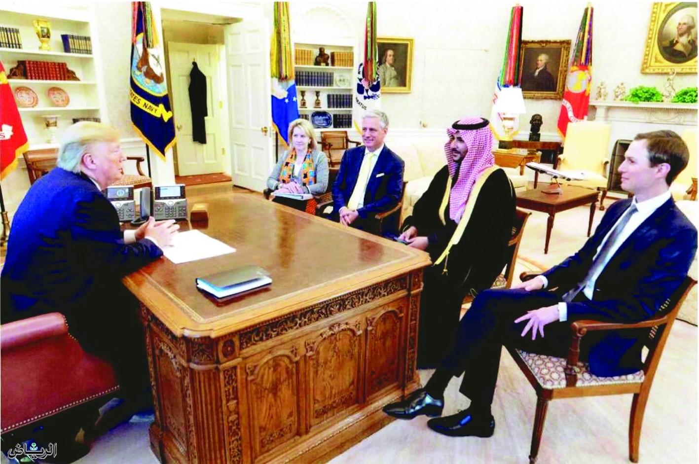Заместитель министра обороны провел переговоры на высоком уровне с президентом Трампом и официальными лицами США
