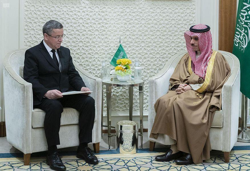 Министр иностранных дел Саудовской Аравии принял посла Туркменистана
