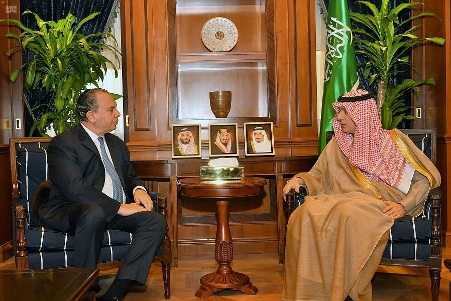 Аль-Джубейр принял президента Фонда этнического взаимопонимания
