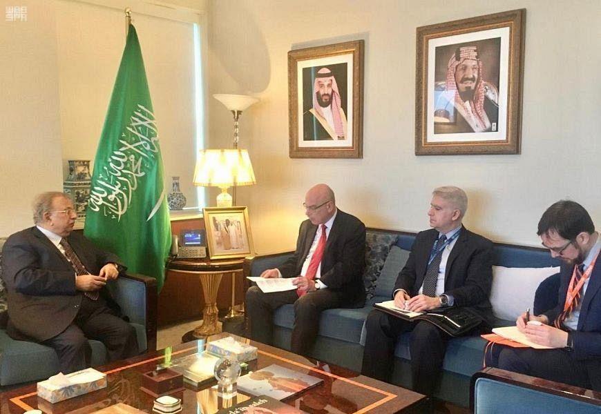 Посол аль-Муаллими встретился заместителем генерального секретаря ООН по борьбе с терроризмом