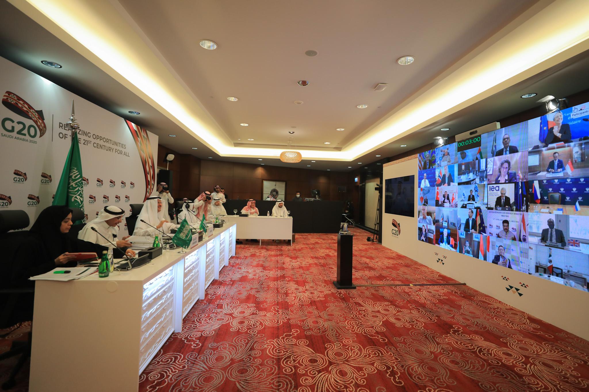 Министры энергетики стран G-20 приняли коммюнике по итогам внеочередной встречи