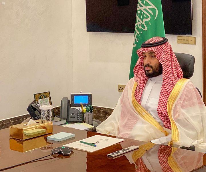 Его Высочество наследный принц направил через видеоконференцсвязь поздравления военнослужащим Министерства обороны с Благословенным празником Ид аль-Фитр