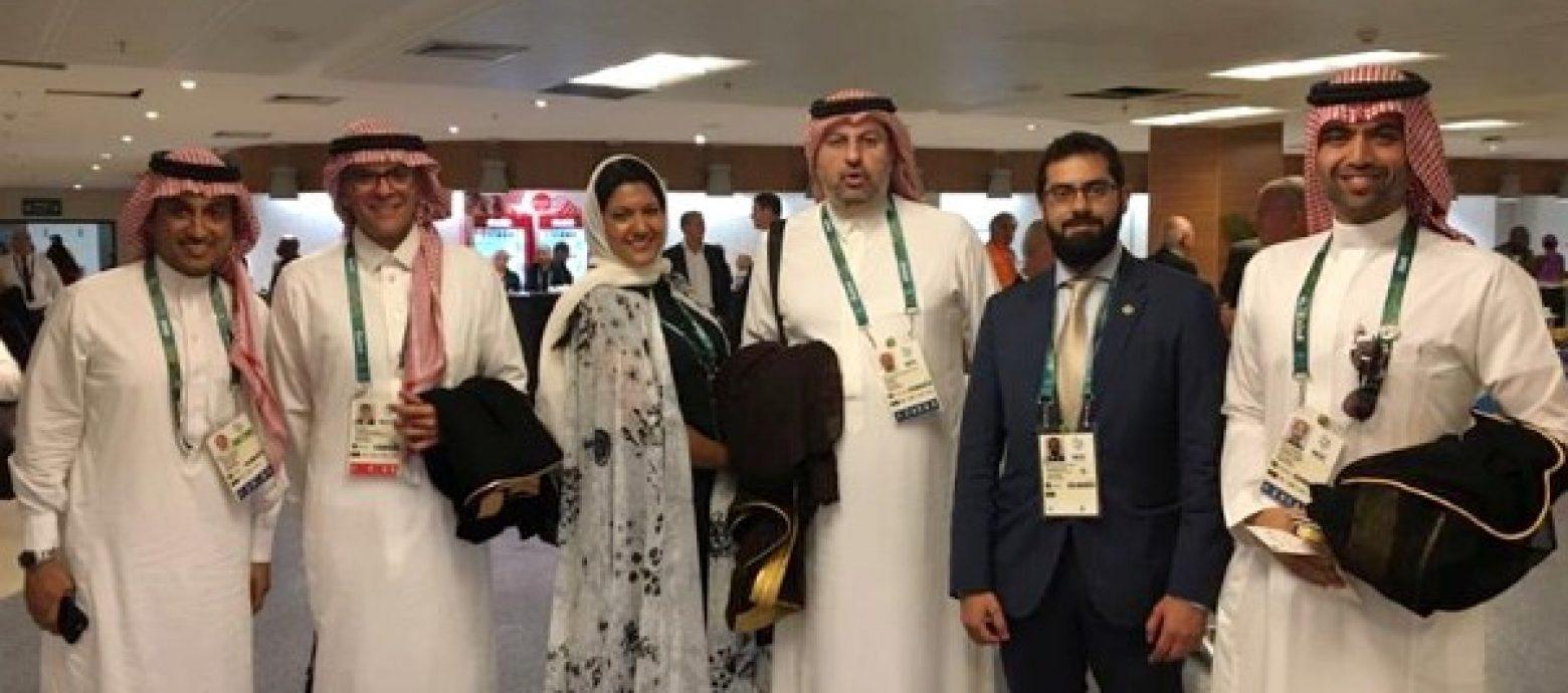 Первое появление принцессы Римы бинт Бандар в составе саудийской делегации на олимпиаде в Бразилии в 2016г.