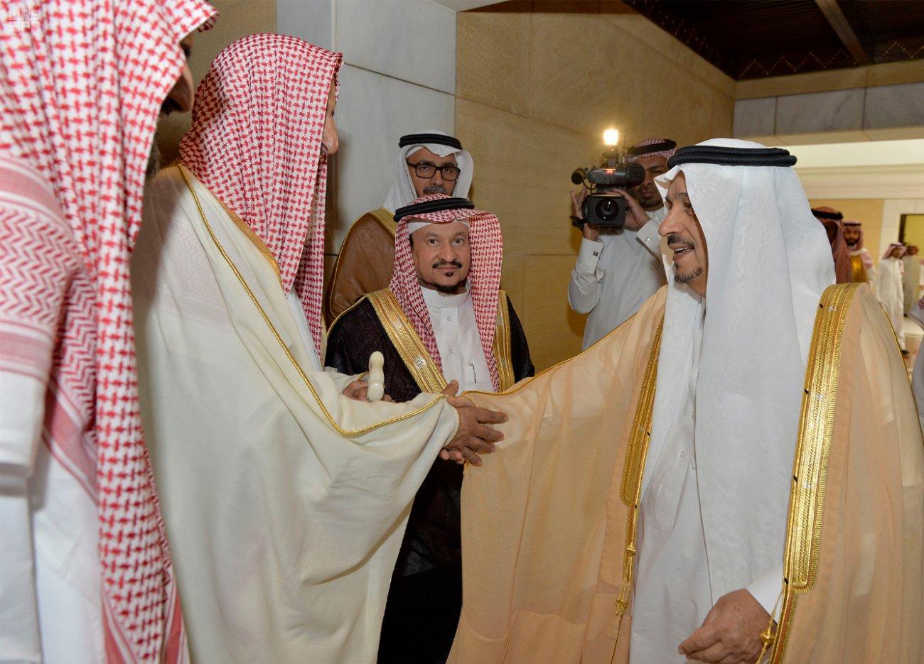 Принц Фейсал бин Бандар принял Главного муфтия Королевства