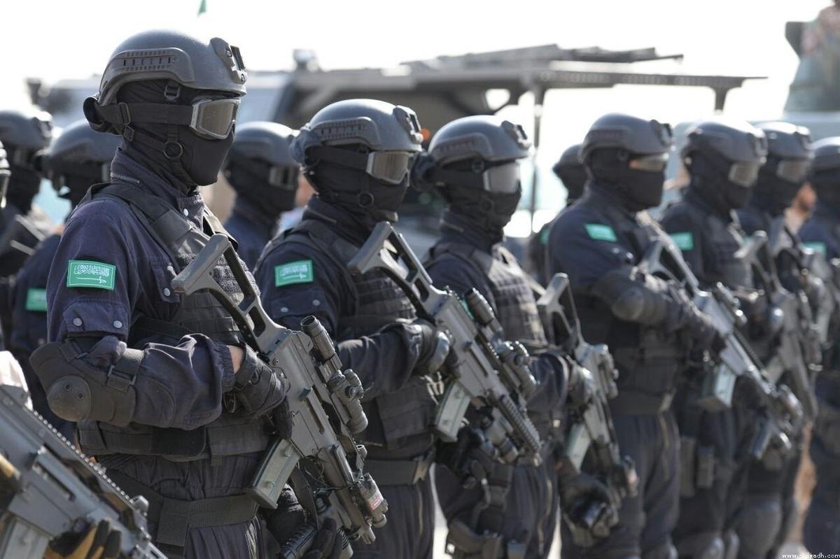 Силы специального назначения Королевства, участвующие в маневрах «Безопасность Персидского залива -1 «