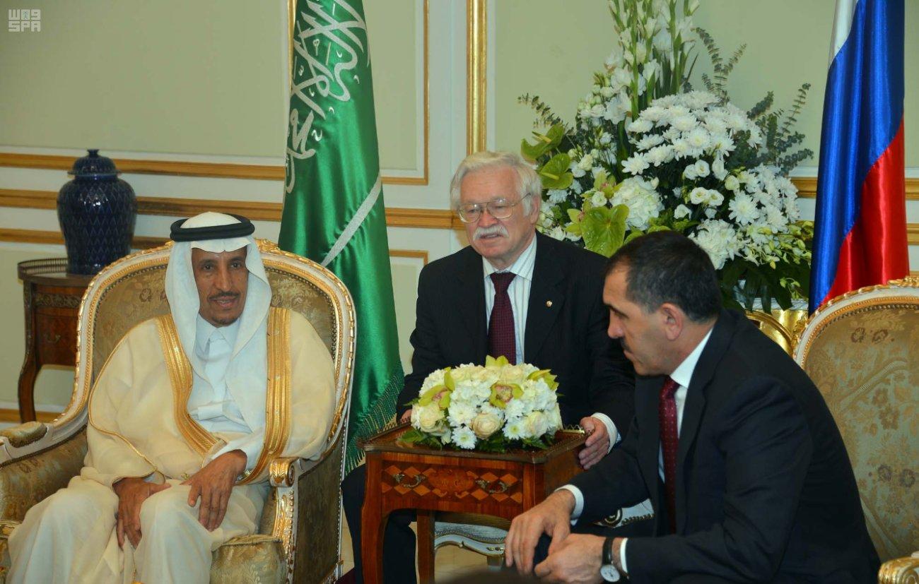Президент Ингушетии встретился с его Честью председателем Совета управляющих компании «SABIC»