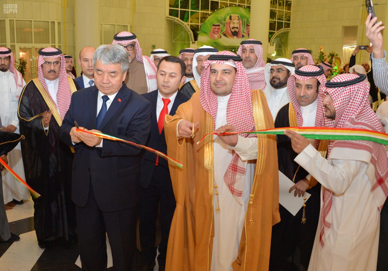 Его Честь Министр культуры и СМИ открыл мероприятия дней культуры республики Кыргызстан в Королевстве.