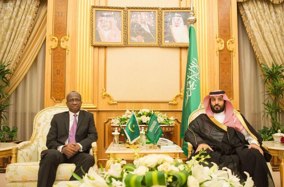 Его Высочество наследный принц встретился с министром обороны Мавритании, обсудив возможности двустороннего военного сотрудничества
