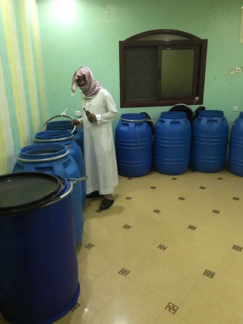 За два месяца в округе Хамис-Мушит пресечена деятельность  пятого  самогоноваренного цеха