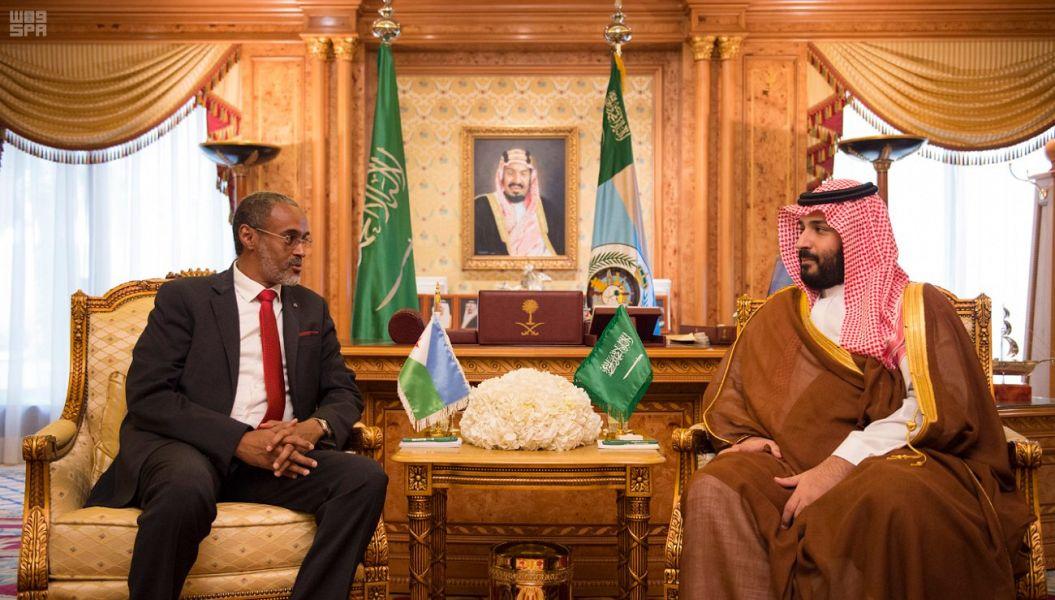 Его Высочество заместитель наследного принца провёл переговоры с министром обороны Джибути
