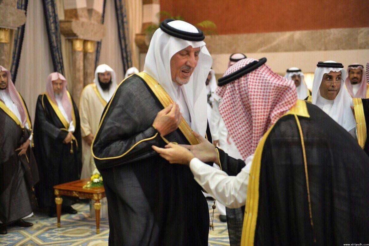 Принц Халид Фейсал бин Абдулазиз и его новый заместитель