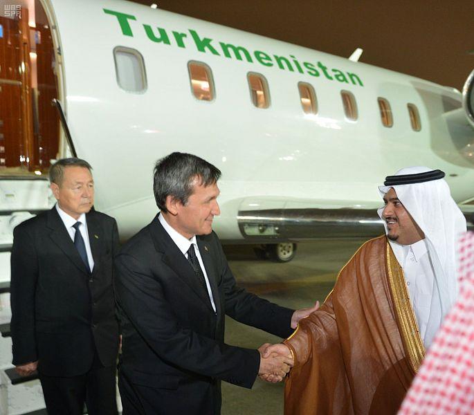 Заместитель премьер-министра и министр иностранных дел Туркменистана прибыл в Эр-Рияд